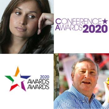 Conference Awards and Awards Awards Sponsorship with Nina Hossein and Alan Dedicoat