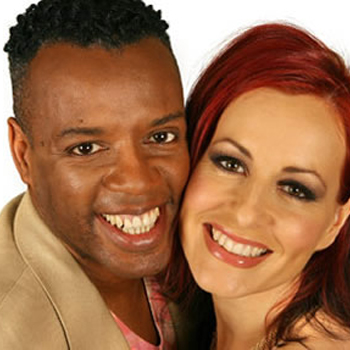 Singing duo David and Carrie Grant