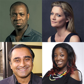 Diversity Panel: Clive Myrie, Sophie Ward & Dr Anne-Marie Imafidon