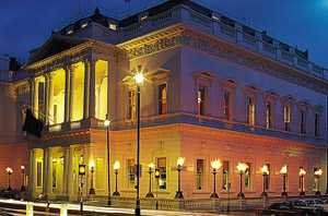 IoD, Pall Mall Exterior - Location of the Performing Artistes New Year Speaker Drinks