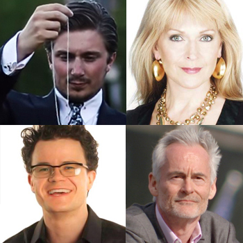 Clockwise from top left: Tom London, Toyah Willcox, Martin Sixsmith and Dominic Holland