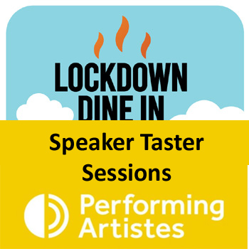 Lockdown and Speaker Taster Session logo