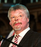 Long term PA friend, Simon Weston