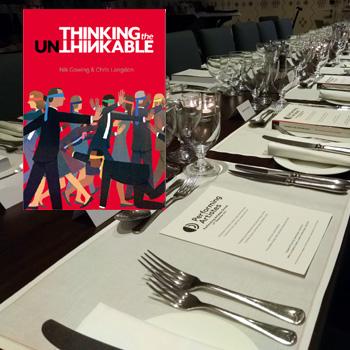 Thinking the Unthinkable dinner image